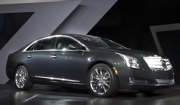 Cadillac люкс идет в Китай