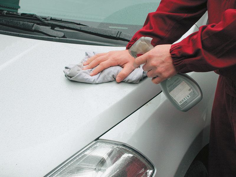 Готовим машину к продаже