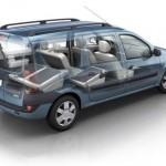 Renault Logan MCV — экономный вариант семейного автомобиля или машина на все случаи жизни