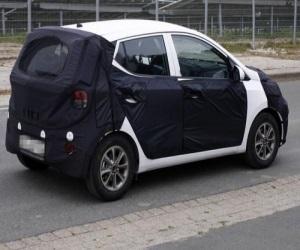 Новый «Hyundai - i10» проходит испытания