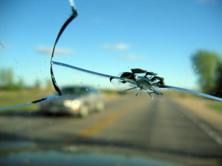 Трещина ветрового стекла автомобиля. Что делать?