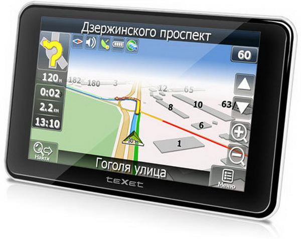 Выбор автомобильного навигатора